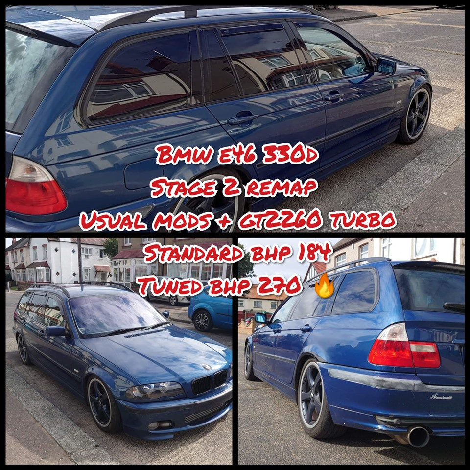BMW e46 330D stage 2