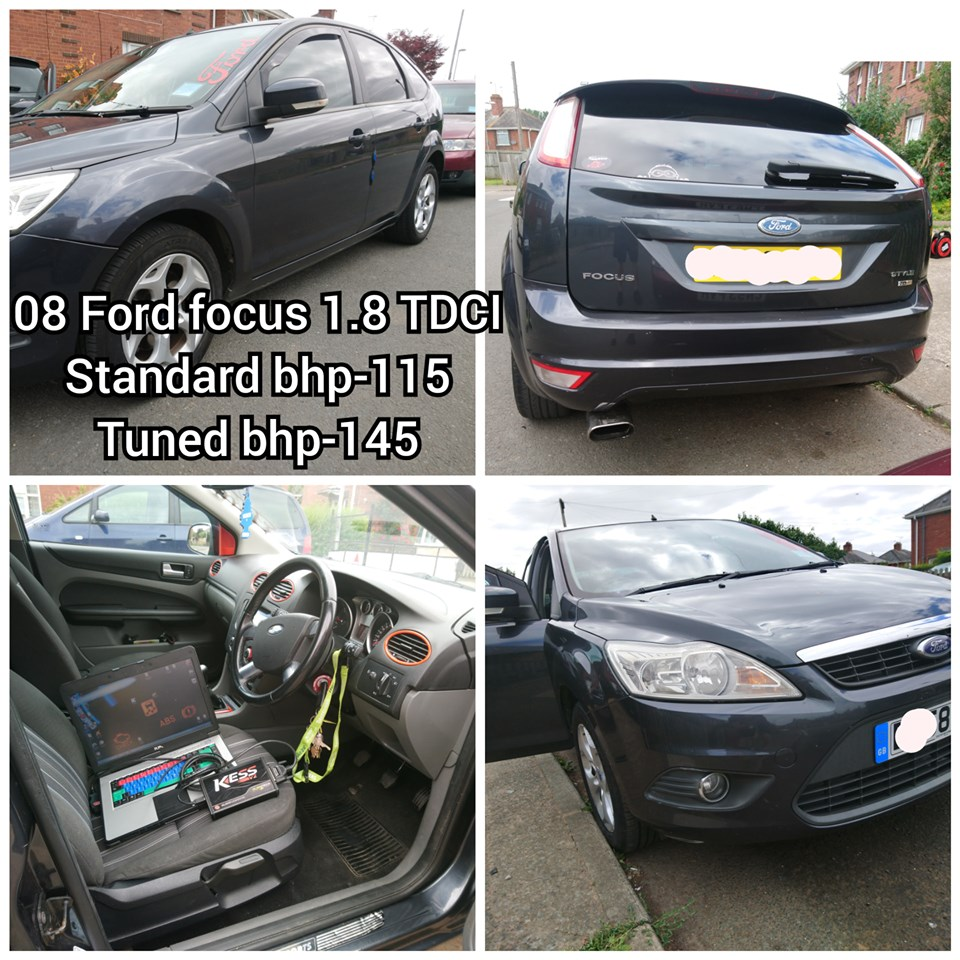 Ford Focus 1.8 TDCI remap
