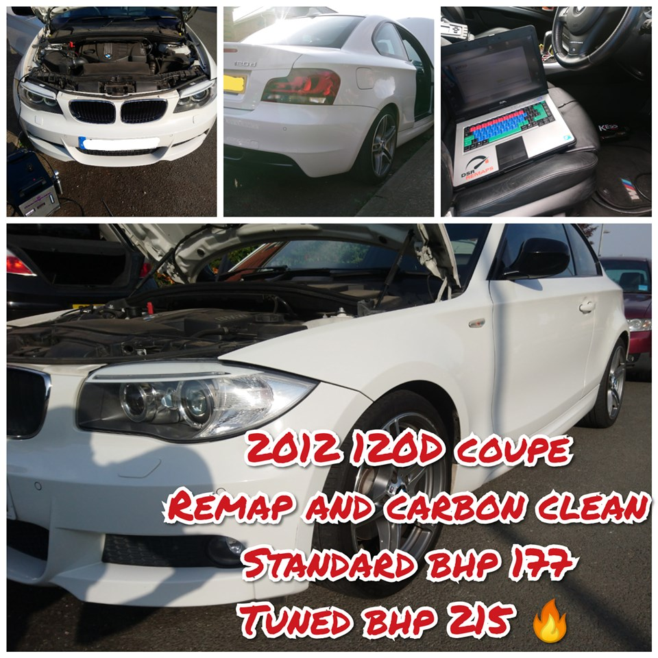 BMW 120D Coupe remap