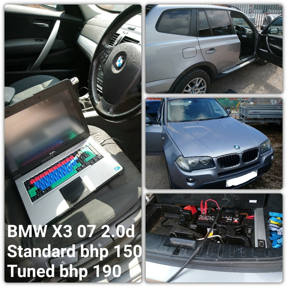 BMW X3 2.0 remap